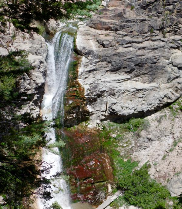 Lassen Volcanic National Travel Guide Mill Creek Falls