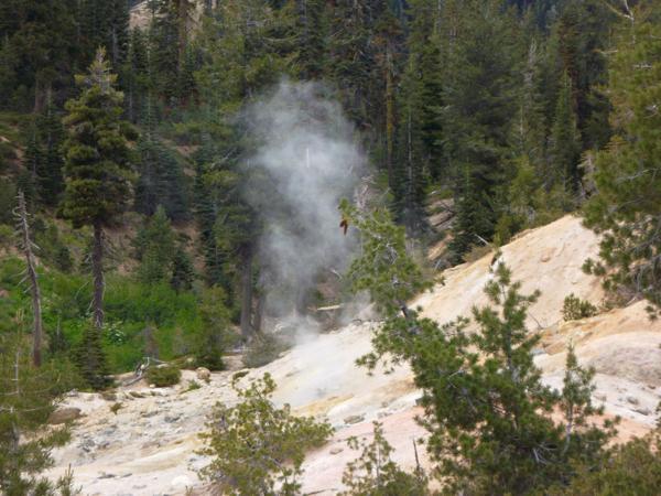 Lassen Volcanic National Travel Guide Sulphur Works Pot