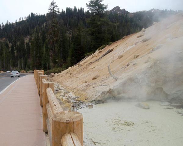 Lassen Volcanic National Travel Guide Sulphur Works