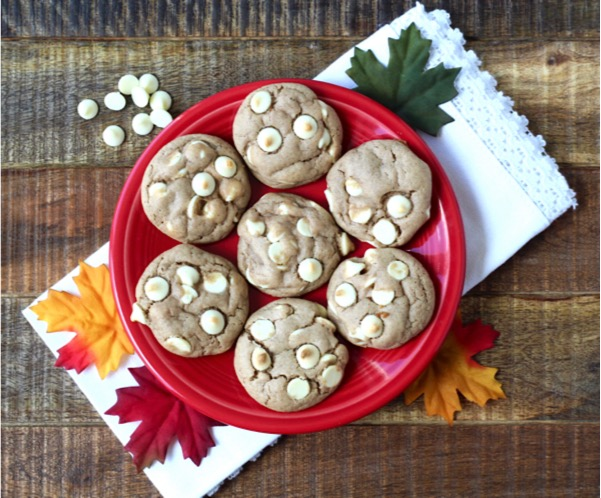 Easy White Chocolate Chip Spice Cookies