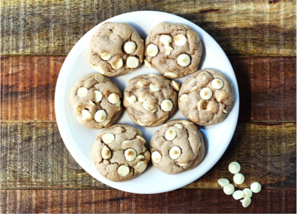 White Chocolate Chip Spice Cookies