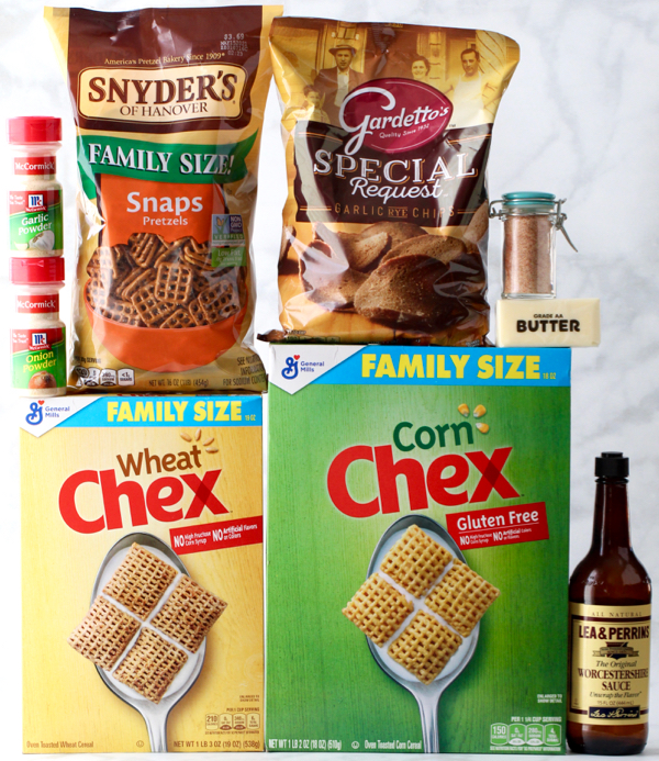 Easy Homemade Chex Mix Recipe