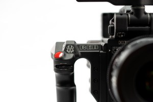 RED cinema camera for professional videos.