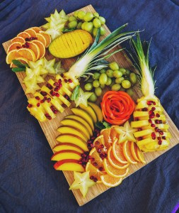 Pineapple & Starfruit Fruit Platter