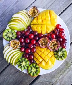Mango & Grape Fruit Platter