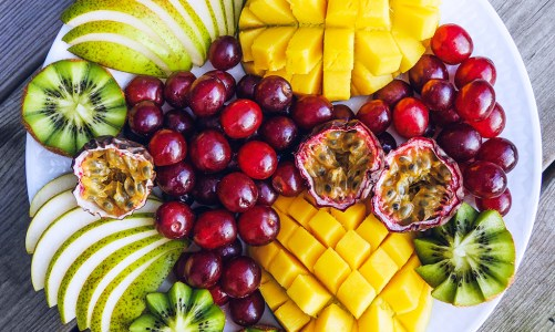 Mango & Grape Fruit Platter