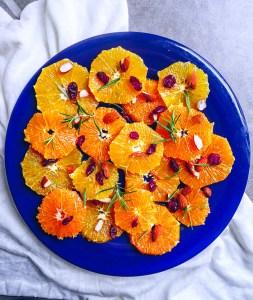 Orange Side Salad