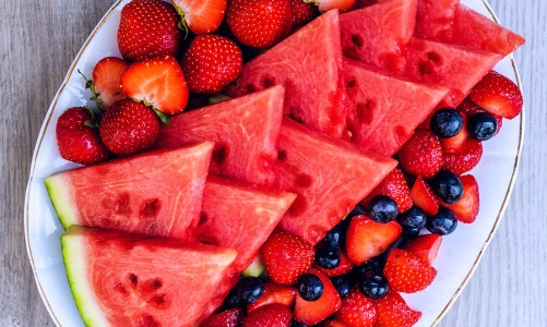 Watermelon & Berries Fruit Platter
