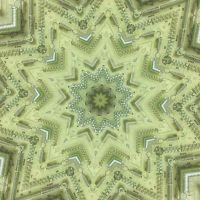 Kaleidoscopic image of hardware store springs