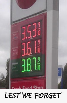 2012 gas prices