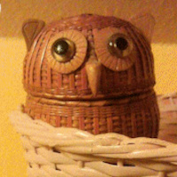 Wise Old Owl basket