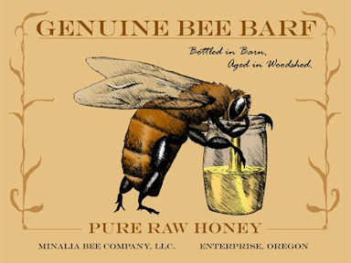 Bee Barf Honey