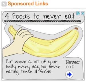 Four Food to Never Eat CLICKBAIT ad