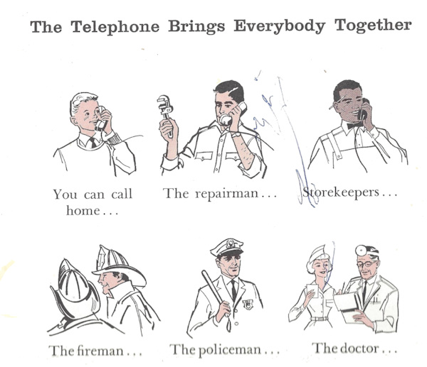 Children's guide to telephone; who to call