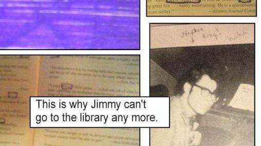 A defaced copy of Stephen King's The Regulators