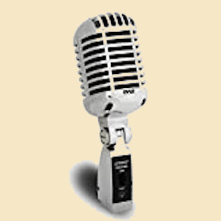Microphone for podcasting or music