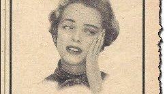 Mary Dismal needs Midol (Old advertisement)