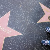 Hollywood stars on the walk of fame