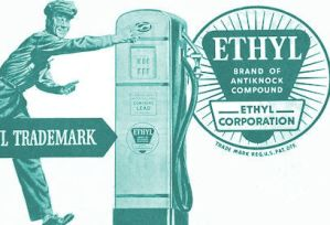 Ad for Ethyl gasoline additive
