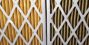 Furnace filter then and now