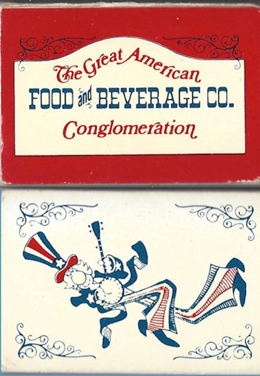 Great American Food and Beverage Co. Matches.