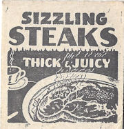 Matchbook graphic for think juicy steak