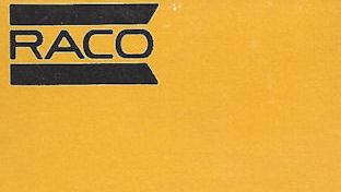 RACO minimalist matchbook