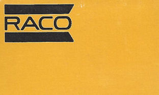 RACO minimalist matchbook