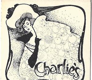 Charlie's San Jose Sleeping Lady Matchbook