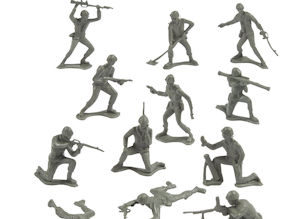 Green Plastic Army Man assortment