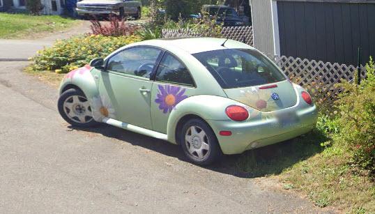 Groovy VW bug