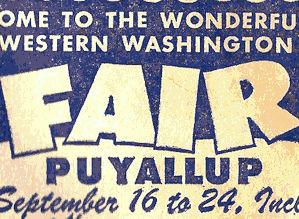 Old Puyallup fair ad