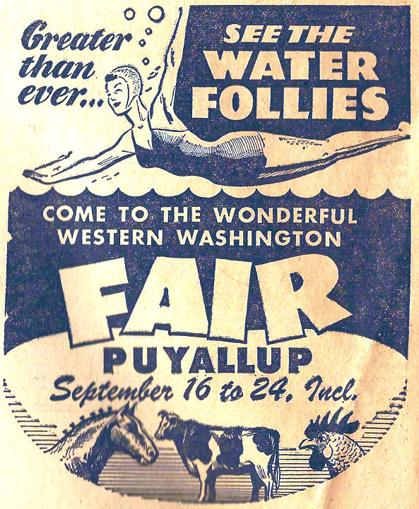 Puyallup Western Washington Fair with water follies