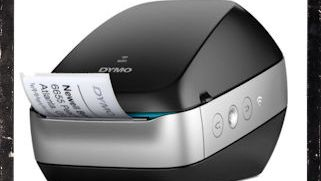 Wireless Dymo label printer does not have to be.