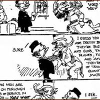 Excerpt from WWII editorial cartoon
