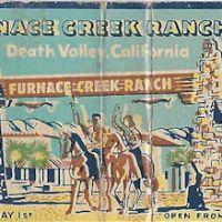 Furnace Creek Matchbook