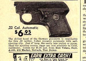 Wholesale gun ad 1960