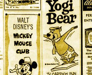 TV listings 1963