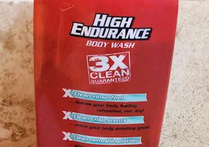HIGH ENDURANCE brand liquid destench