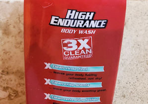 HIGH ENDURANCE brand liquid destench