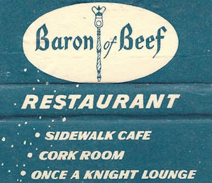 Defenct Baron of Beef from Parliament Hotel Birmingham