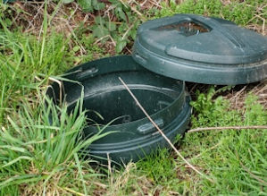 simple Dog septic system