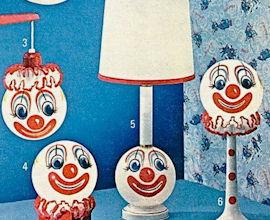 horrible clown lamp catalog