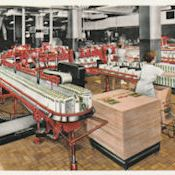 Midcentury cereal factory