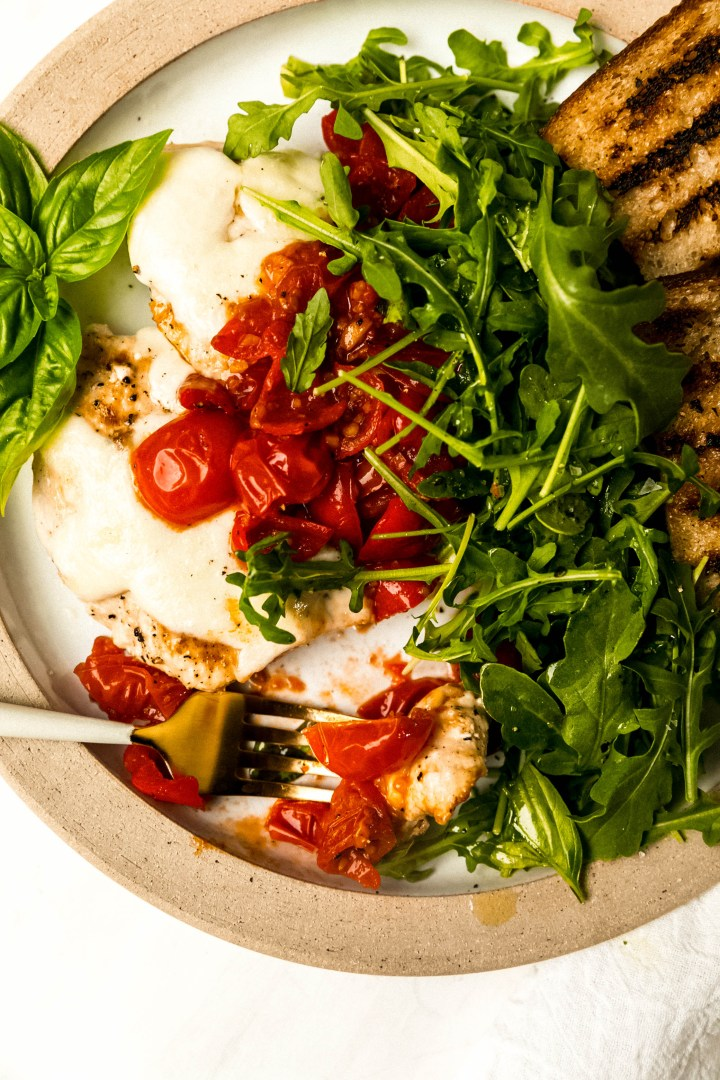 Chicken Paillards With Mozzarella And Sweet And Spicy Tomato Sauce Never Not Hungry