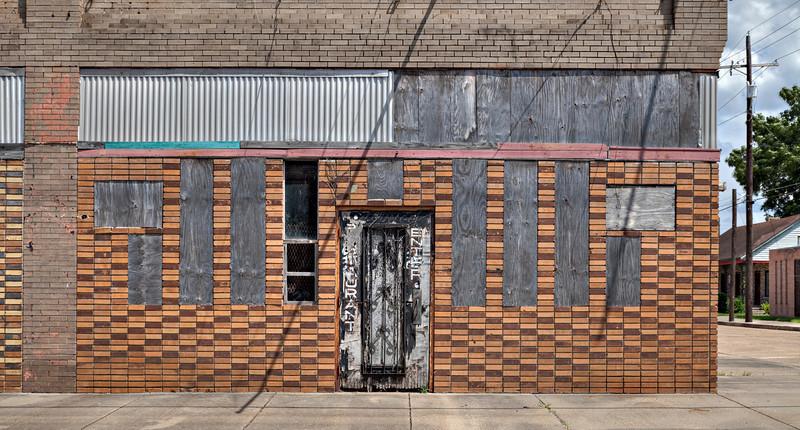 Abandoned entrance