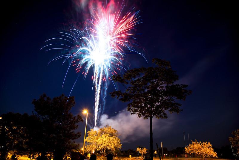 Bonus fireworks