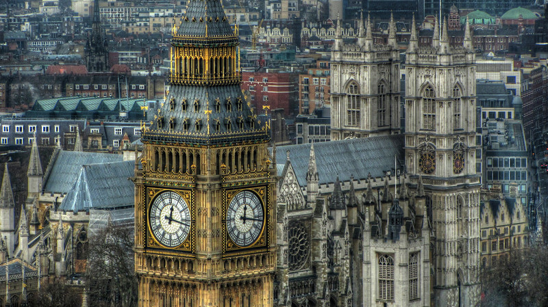 Big Ben over Westminster
