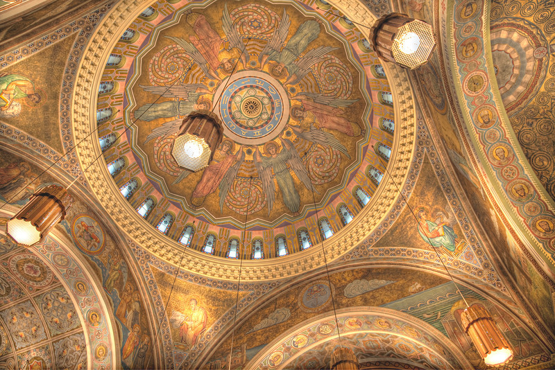 The ceiling of St. Clement
