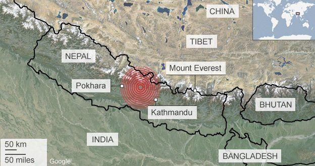 nepal-earthquake-map